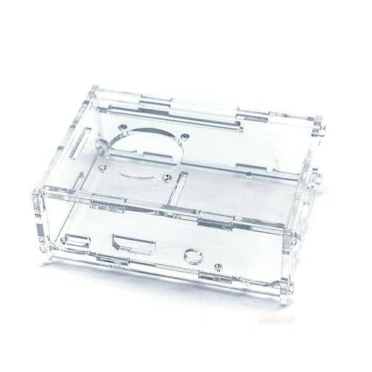29 opinioni per Coperchio di protezione trasparente per Raspberry Pi Modello B + (B Plus) /