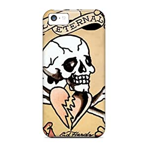 Hot Snap-on Ed Hardy Hard Cover Case/ Protective Case For ipod touch5