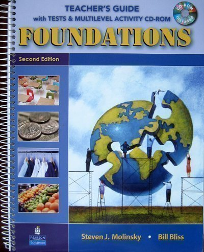 Foundations: Teacher's Guide (CD-ROM included)