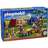 Playmobil Summer Fun Camp Site with LED Fire - sets de juguetes (Acción / Aventura, Niño/niña, Multi, De plástico)