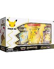 Pokémon USA, Inc.   Pokemon TCG: Celebrations Premium Figure Collection - Pikachu VMAX (25e jaar)   Kaartspel   Leeftijd 6+   2 Spelers   20+ Minuten Speeltijd