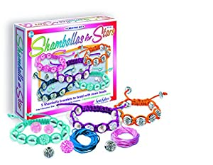 SentoSphere Creative - Shamballa for Stars - DIY Bracelets Arts and Crafts Kit