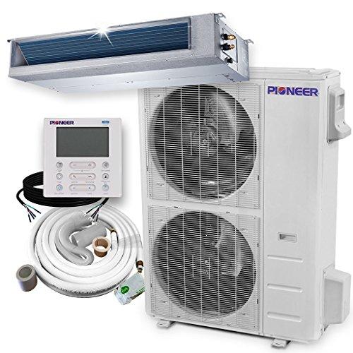 PIONEER Air Conditioner Inverter++ Split Heat Pump, 48,000 B