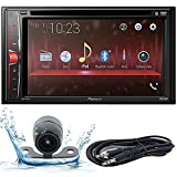 Pioneer AVH-210EX 6.2' WVGA Display Multimedia DVD Receiver, and Built-in Bluetooth with Backup Camera and EMB 3.5mm Aux Cable Included