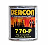 Deacon 770-P Pint High Temperature Paste Sealant, 200 Degree F to 950 Degree F, 1 pint