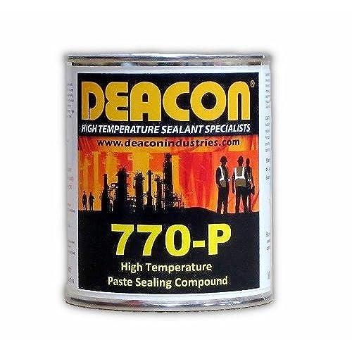 Deacon 770-P Pint High Temperature Paste Sealant, 200 Degree F to 950 Degree F, 1 pint