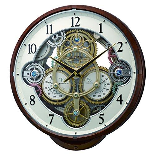 Rhythm Clocks ''Widget'' Magic Motion Clock, Woodgrain by Rhythm Clocks (Image #2)