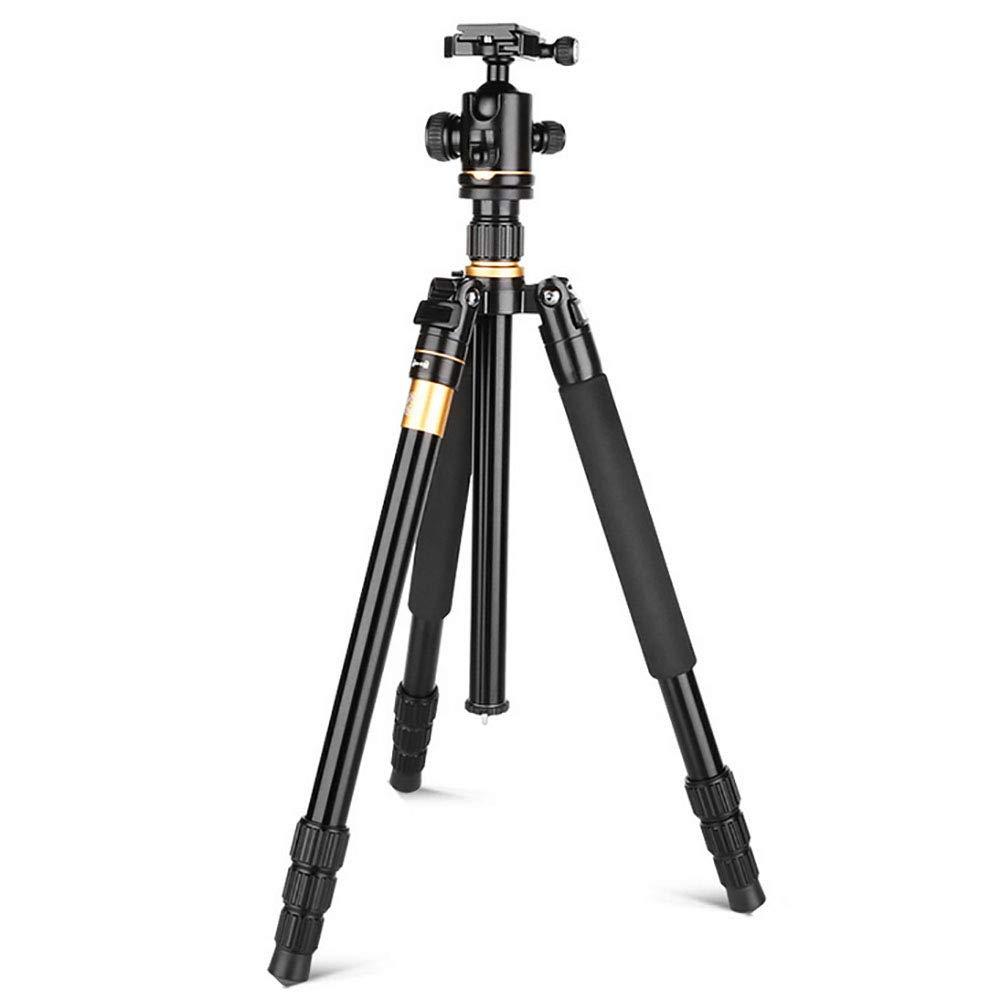 AWAKMER アルミニウム合金 一脚と360度ボールヘッド付き プロフェッショナルカメラ三脚   B07KW47RN2