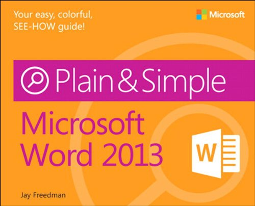 Download Microsoft Word 2013 Plain & Simple Pdf