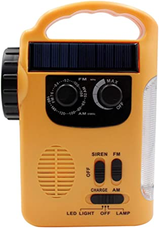 HOUSEHOLD Solar powered flashlight, Can be used as camping