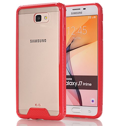 680b53dc304 Galaxy J7 Prime Case,Galaxy On7 2016 Case,BSlvwg Protective Case Hybrid  Shock-Absorption Bumper Cover Anti-Scratch Clear Back Protective Case Cover  Shell ...