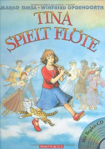 Tina spielt Flöte