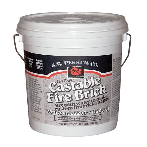 Castable Firebrick Cement - 12.5 lbs