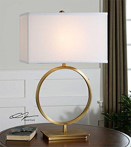 Amazon.com: Círculo Lámpara de mesa lámparas de mesa de la ...