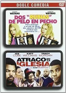 Doble Comedia: Dos Rubias De Pelo En Pecho + Atraco En La Iglesi [DVD]