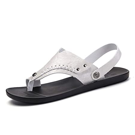 7f04a5028 Flip Flops HUYP Summer Slippers Men s Beach Sandals Fashion Wear Men s  Sandals (Size   39)  Amazon.co.uk  Kitchen   Home