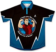 ScudoPro Stronger Man Bowling Jersey