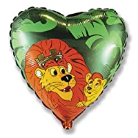 "LA Balloons Foil Balloon 201523 Lion King, 18"", Multicolor"