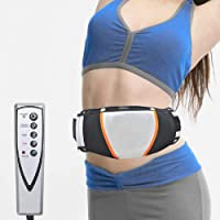 Fencia Electric Slimming Massage Belt, Electric Exercise Heat Loss Weight Vibrating Shape Slimming Massage Belt Fitness Massager Waist Trimmer Shape Remove Fat Tool Improve Blood Circulation- Unisix