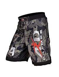 ARD Camo Pro MMA Fight Shorts Camouflage UFC Cage Fight Grappling