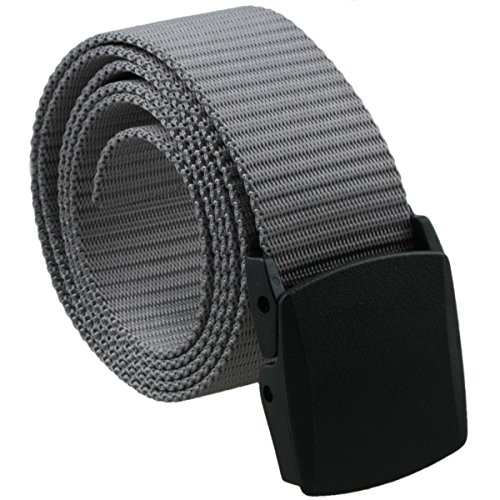 squaregarden Men's Nylon Webbing Military Style Tactical Duty (Dot Buckle)