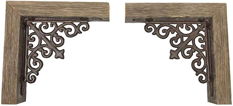 BOOKEND SIZE BRACKETS sold individually RUSTIC FARMHOUSE CORBELS