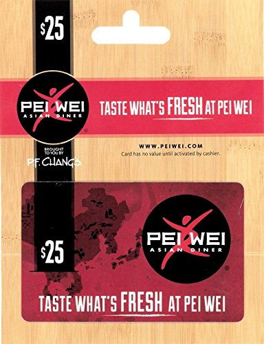 Pei Wei Fresh Kitchen  25 Gift Card