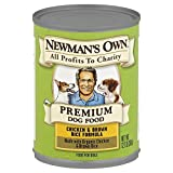 Newman's Own Dog Food, Chicken & Brown Rice, Can 12.7 OZ, (Pack of 6)