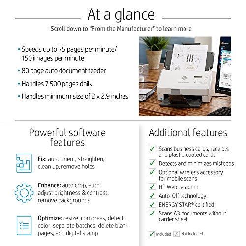 HP ScanJet Enterprise Flow 7000 s3 Sheet-feed OCR Scanner by HP (Image #5)