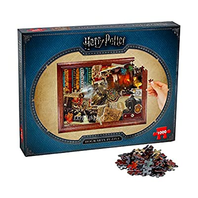 Winning Moves Harry Potter Hogwarts 1000-piece Jigsaw Puzzle: Toys & Games