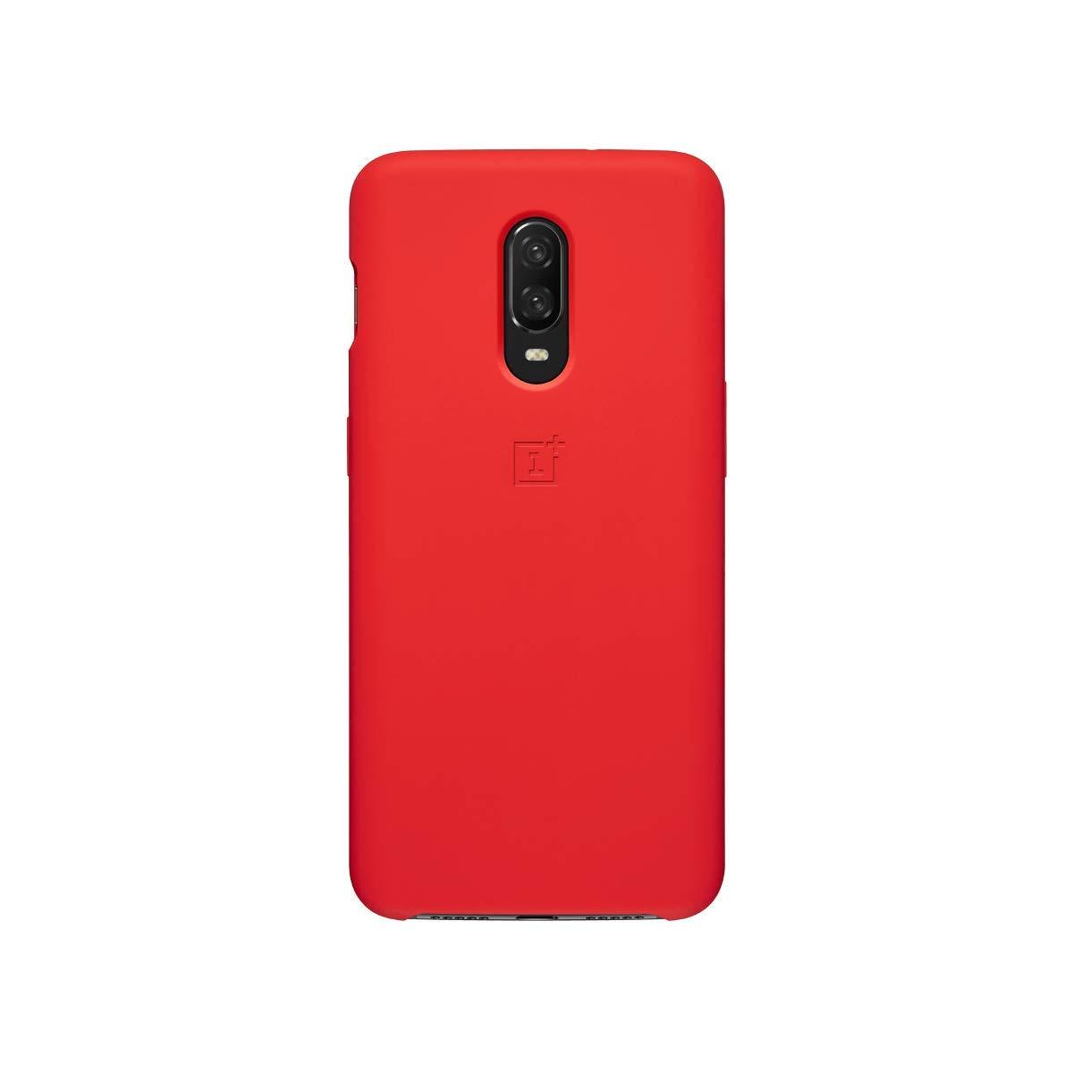 OnePlus Coque de Protection pour OnePlus 6T Bumper Nylon Noir
