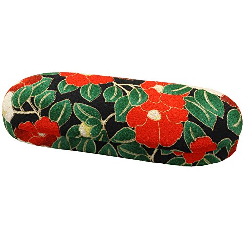 KOMESICHI Women's Japanese Futakoshi Chirimen Glasses Hard Case - Japanese Eyeglasses