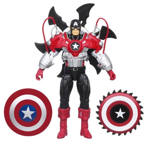 Marvel Captain America With Spinning Shield Captain America Deluxe Shield
