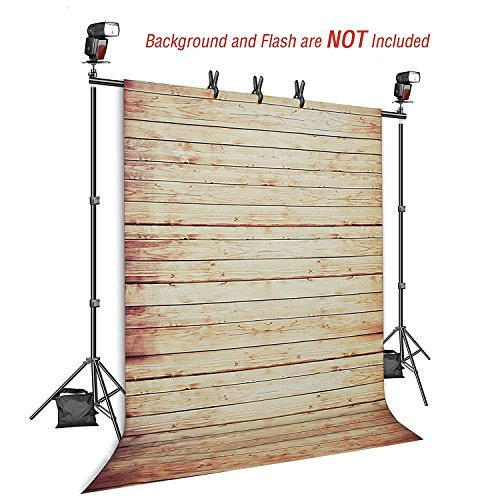 Backdrop Stand, Emart 7x10ft Photo Video Studio Muslin Background Stand Backdrop Support System Kit with Mini Ball Head, Photography Studio by EMART (Image #1)