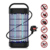 JOLVVN Electric Bug Zapper, Pest Repeller Electric Indoor Insect Mosquito, Bug, Fly & Other Pests Killer,20W UV Lamp for Home Garden Camping Travel Indoor Use