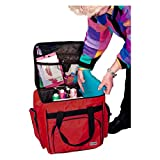 Tutto 1214CSG Red Serger/Accessory Bag Turquoise