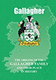 Gallagher (Irish Mini-Book): The origins of the family name Gallagher and their place in history (Irish Name Mini Books)