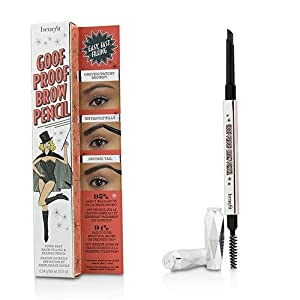 Benefit Goof Proof Brow Pencil, No. 6 Deep, 0.01 Ounce