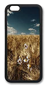 The Catcher in the small daisies TPU Case Cover for iPhone 6 and iPhone 6 4.7 inch Black