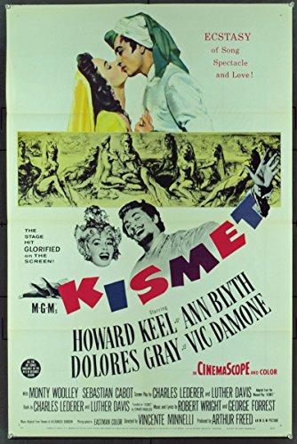 Kismet (1955) Original Movie Poster