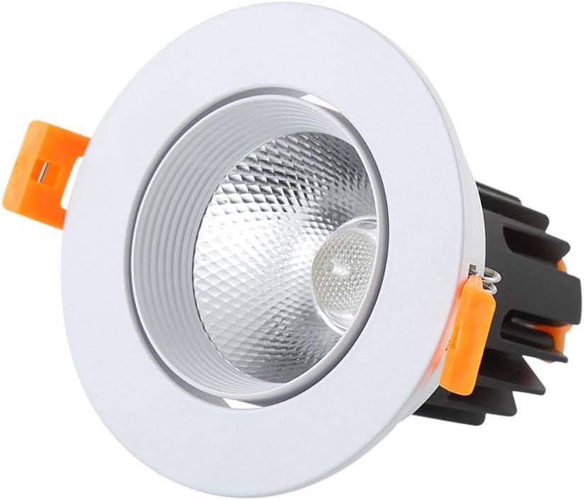 MMPY Ascensor Iluminación De La Oficina De Entrada Proyector De Luz De Techo Llevada Empotrar En Pared Lámpara De Luz De La Sala De Estar Casera De Luz Agujero del Techo (Size :