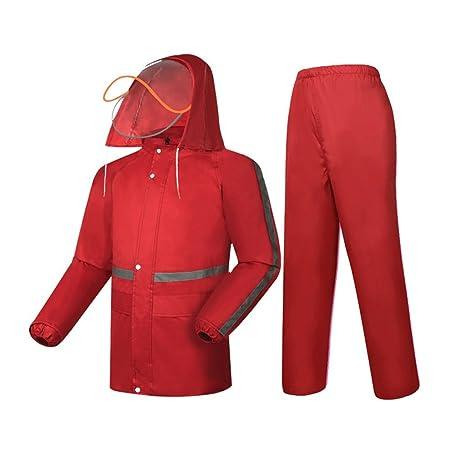 Impermeable traje impermeable al aire libre que va de ...