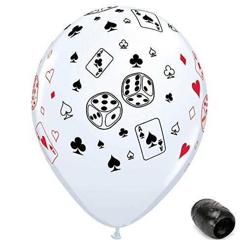 Casino Themed Balloons - 10 Pack 11
