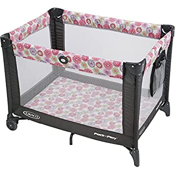 Graco Pack n Play Playard On the Go with Folding Feet, Livia