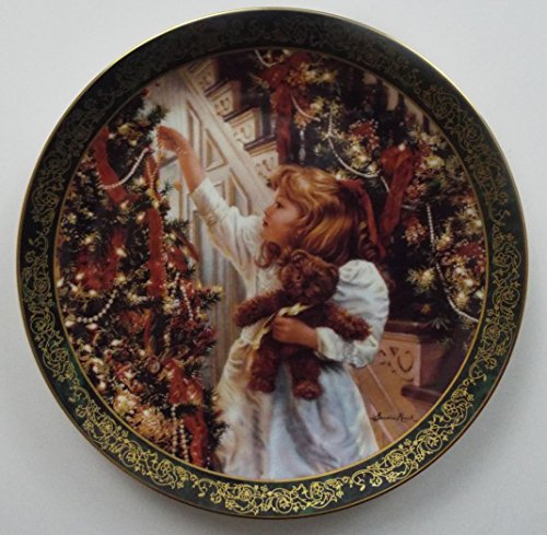 The Brandford Exchange Night Before Christmas ~ Sandra Kuck Limited Edition Plate ~ Bradex 84-R60-047.2 ~ Victorian Christmas Collection ~ Rare ~ ()