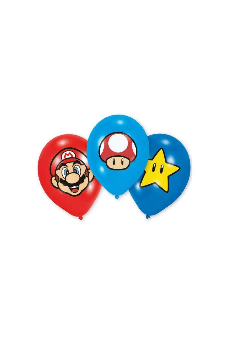 Super Mario Bros - Globos decorativos para fiestas y ...