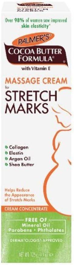 Palmer'S Cocoa Butter 4035 - Crema de masaje para las estrías, 125G