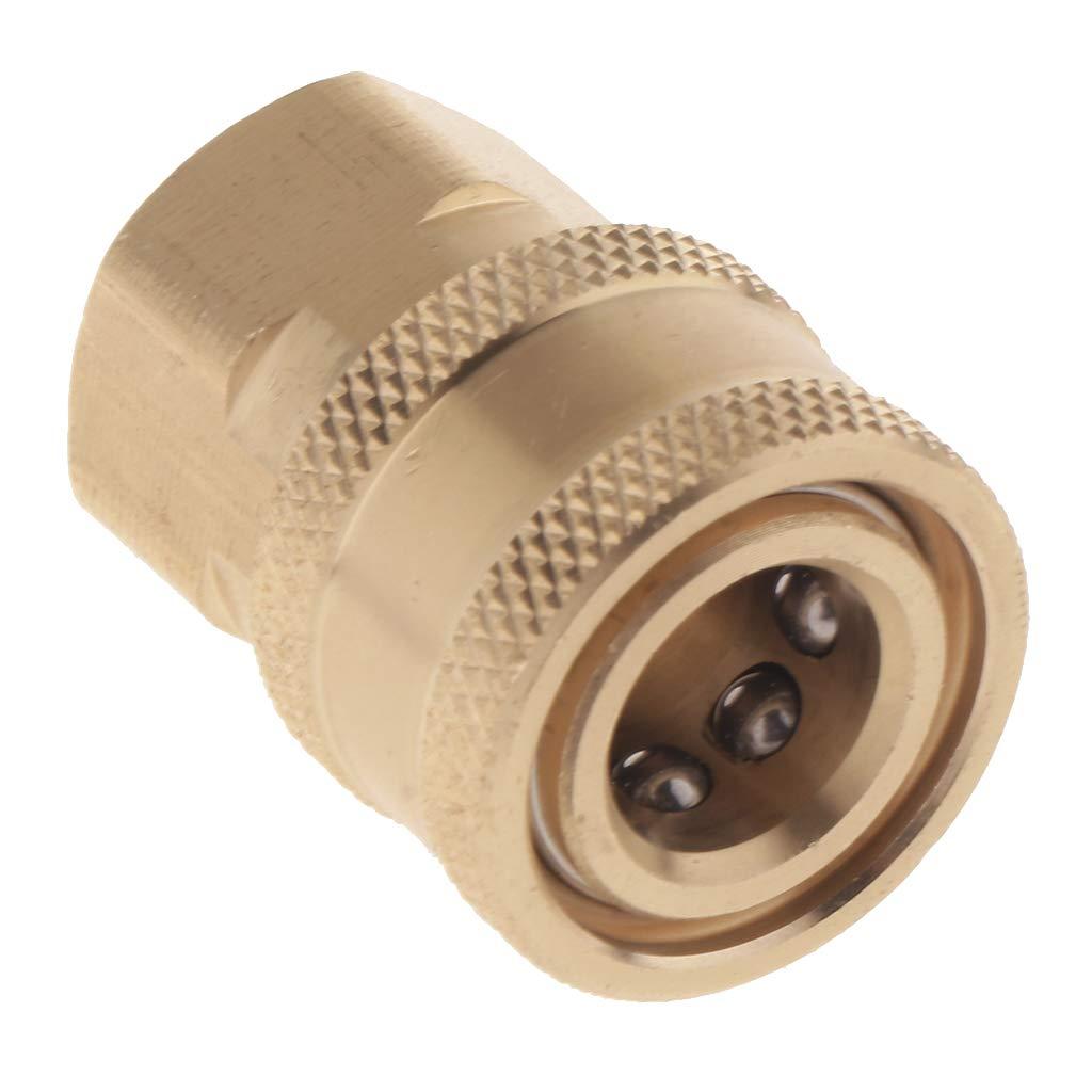 B Blesiya Pressure Washer Adapter Set Quick Connect Kit 1/4 Female Inner Wire 14x1.5mm by B Blesiya (Image #1)