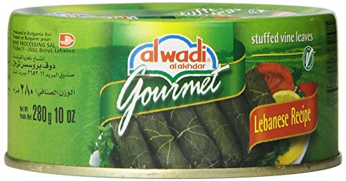 Price comparison product image Al Wadi Gourmet Stuffed Vine Leaves ,  10-Ounce Cans (Pack of 6)
