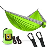 Bear Butt Lightweight Double Camping Parachute Hammock, Portable Two-Person Hammocks for Hiking & Backpacking - 12 colors available